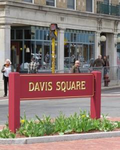 Davis square name