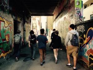 Graffitti alley
